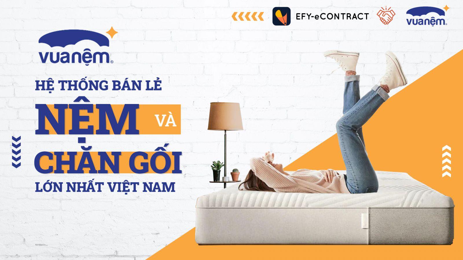 Vua Nệm - hệ thống bán lẻ nệm và chăn gối lớn nhất Việt Nam