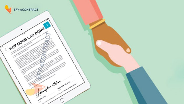 Các loại hợp đồng điện tử thông dụng