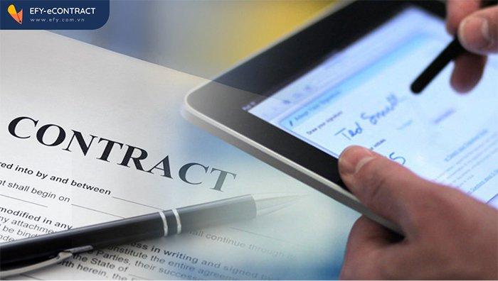 Khái niệm hợp đồng thương mại điện tử