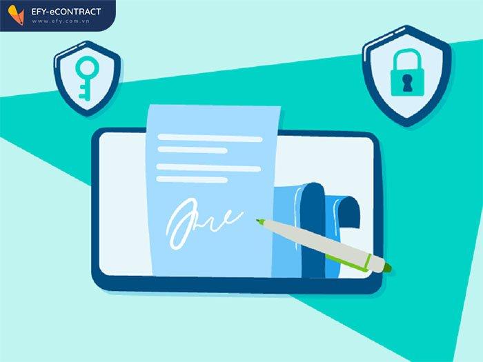 Không có chữ ký điện tử hợp đồng điện tử có hiệu lực không?