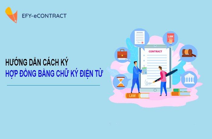 Ký hợp đồng bằng chữ ký điện tử