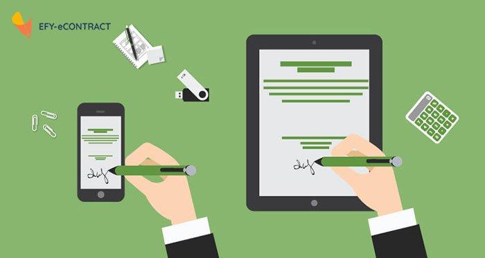 Lợi ích của hợp đồng điện tử