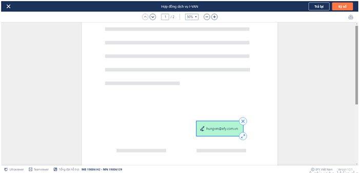 Quy trình ký hợp đồng điện tử qua email