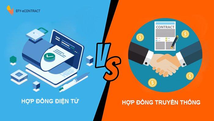 SO sánh hợp đồng điện tử và hợp đồng truyền thống